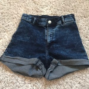 High wasted jegging Shorts